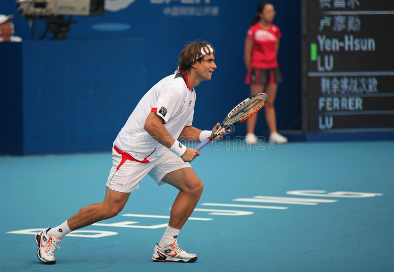 Download David Ferrer At The 2010 China Open Editorial Stock Photo - Image: 16400773