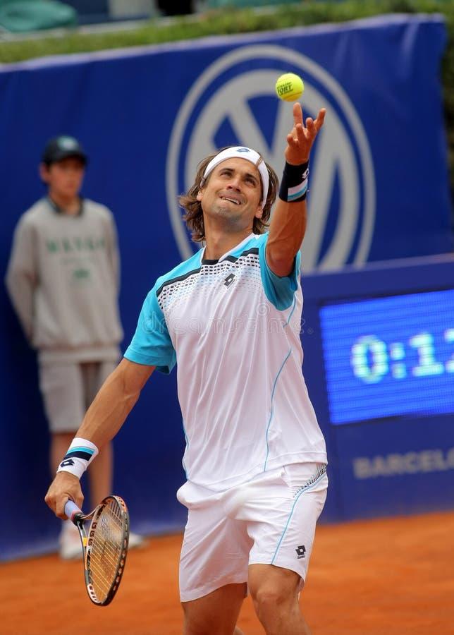 david ferrer gracza spanish tenis zdjęcie stock