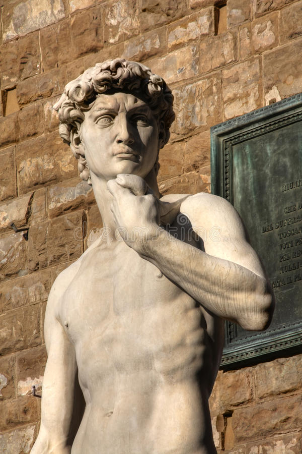 David in Florenz Italien stockbild