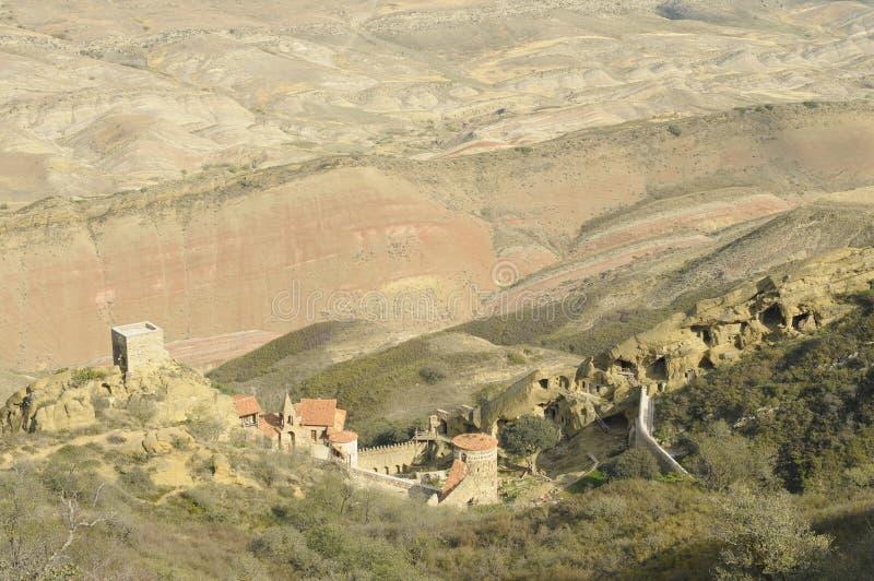 David Gareja Monastery Complex antique image stock