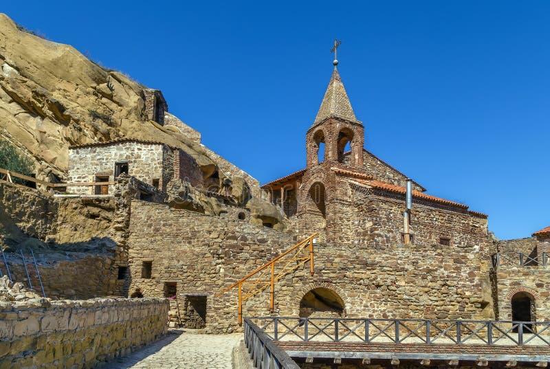 David Gareja monastery complex, Georgia. David Gareja is a rock-hewn Georgian Orthodox monastery complex located in the Kakheti, Georgia royalty free stock photography