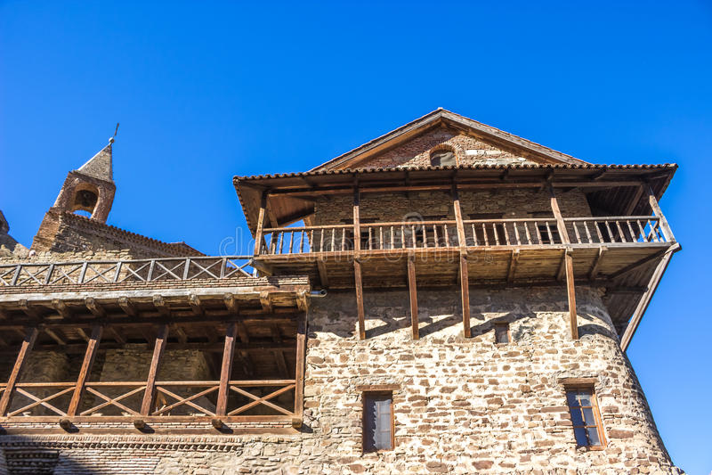 David Gareja monastery complex, Georgia. Kakheti. Sights of Georgia. David Gareja monastery complex, Georgia royalty free stock photos