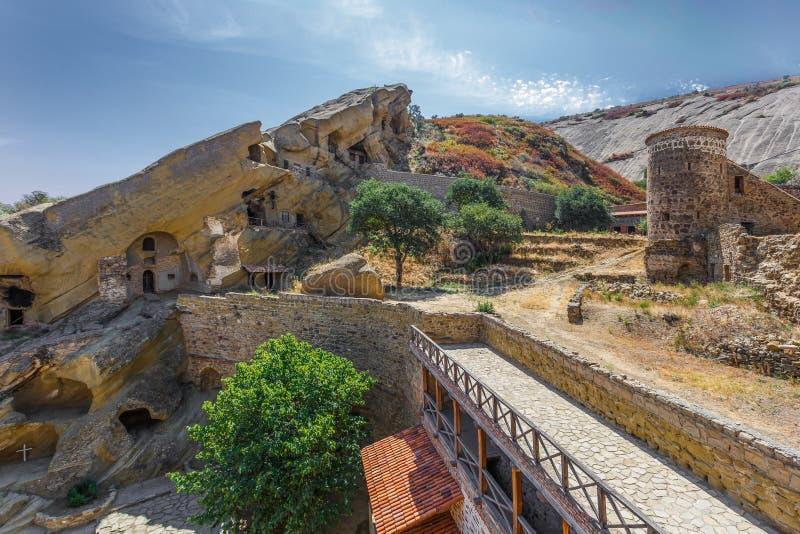 David Gareja monastery complex (Kakheti, Georgia).  royalty free stock images