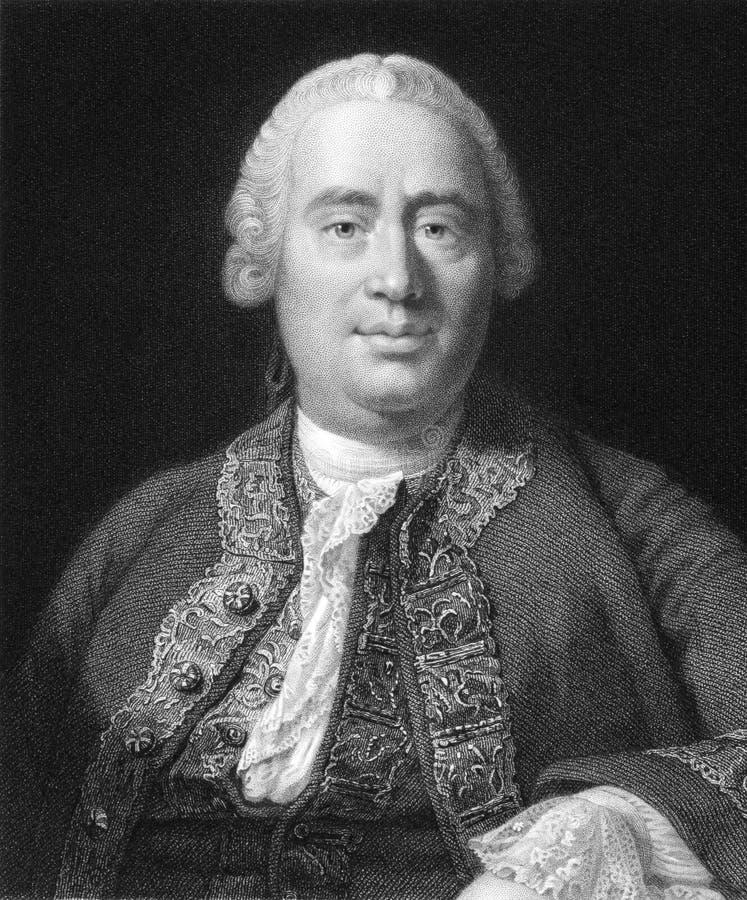 David Hume fotos de archivo libres de regalías