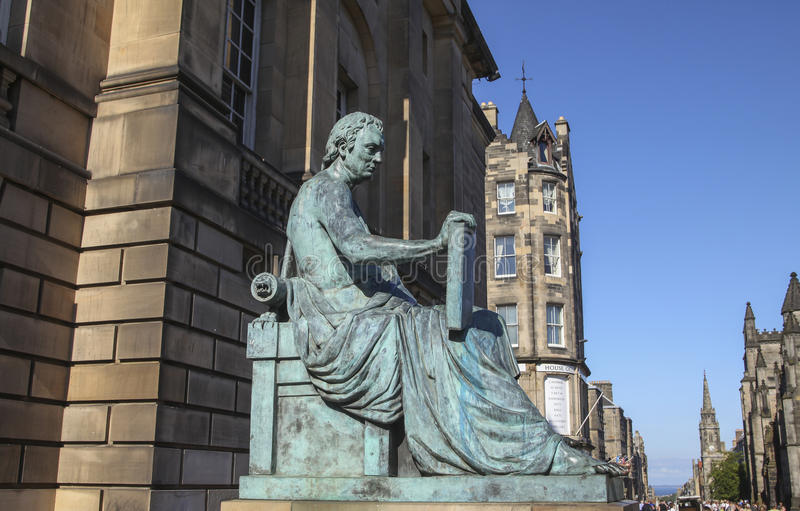 David Hume стоковые фото