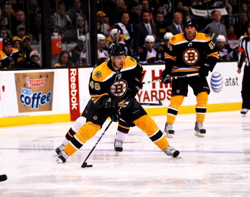 David Krejci #46 Boston Bruins. Boston Bruins center David Krejci #46 royalty free stock photos