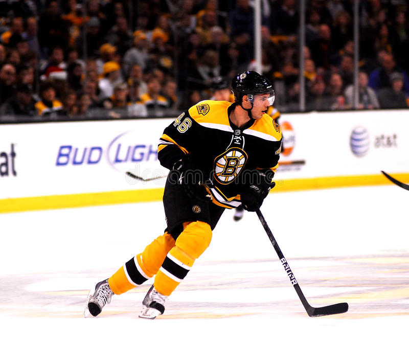 David Krejci Boston Bruins Foward. David Krejci #46 Boston Bruins Forward stock images