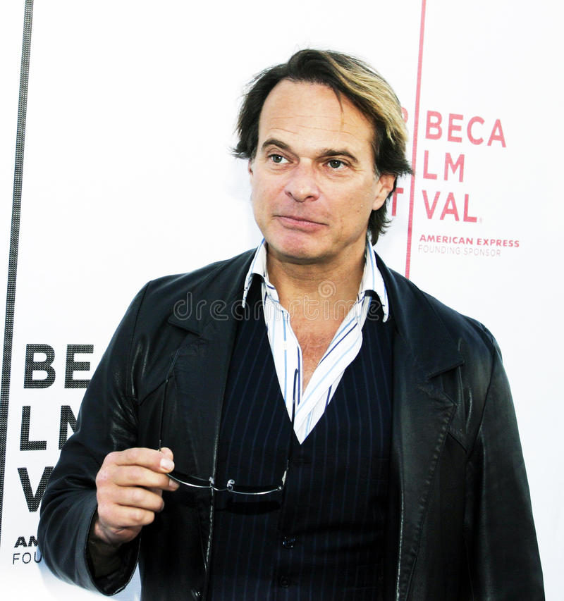 David Lee Roth. Rock vocalist, songwriter, and actor David Lee Roth arrives on the red carpet for a screening of My Uncle Bern, at the 3rd annual Tribeca Film stock photos