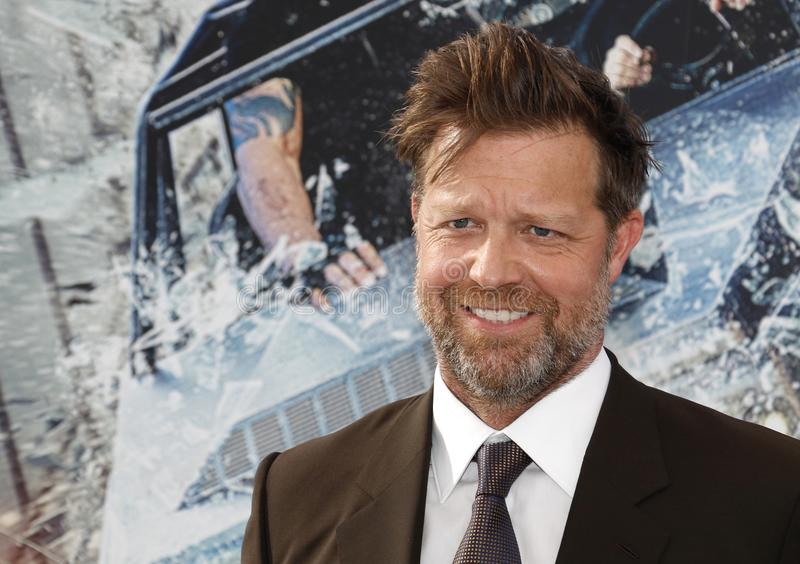 David Leitch. At the World premiere of `Fast & Furious Presents: Hobbs & Shaw` held at the Dolby Theatre in Hollywood, USA on July 13, 2019 royalty free stock photos