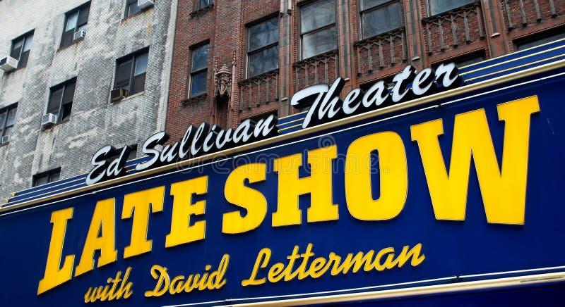 David Letterman foto de archivo