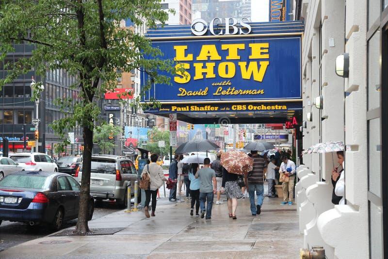 David Letterman lizenzfreie stockfotos