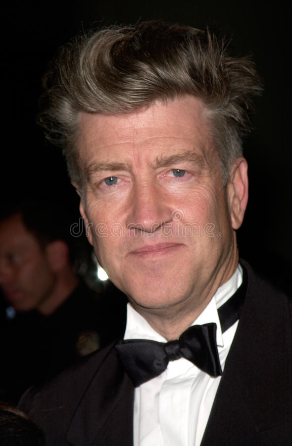 David Lynch photographie stock