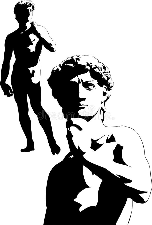 David Michelangelo illustration libre de droits