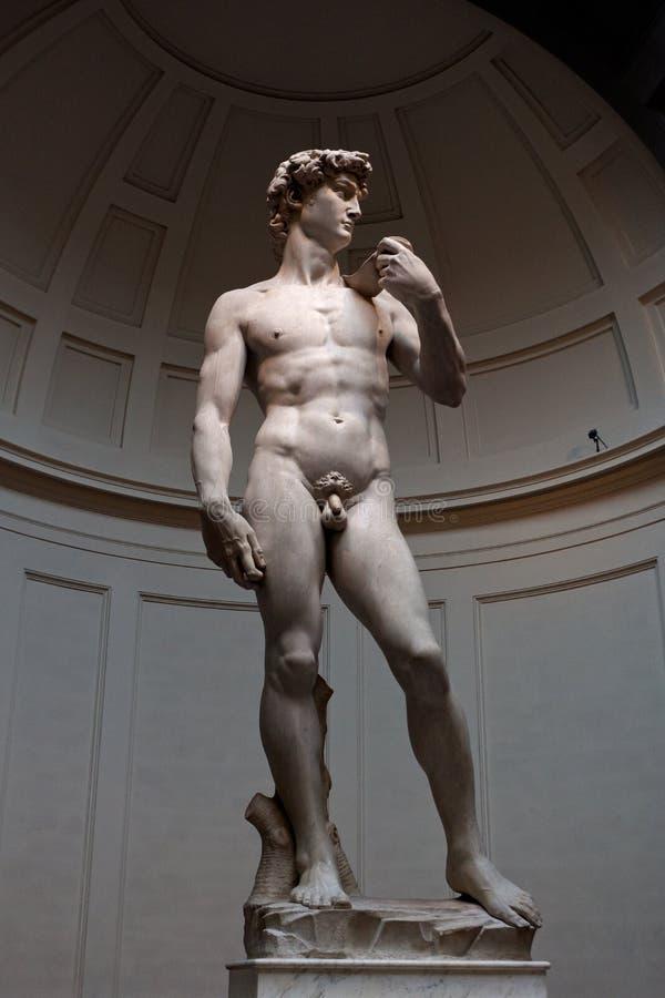 David, Michelangelo, academia, Veneza, Itália foto de stock