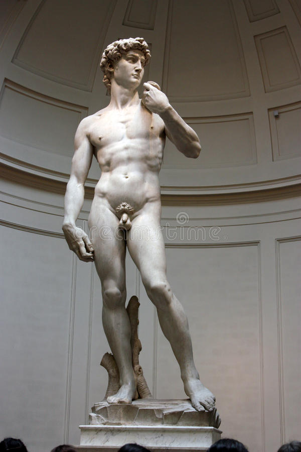 David of Michelangelo florence royalty free stock photos