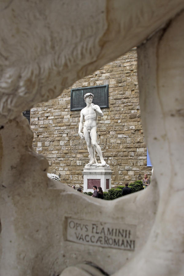 David by Michelangelo stock image