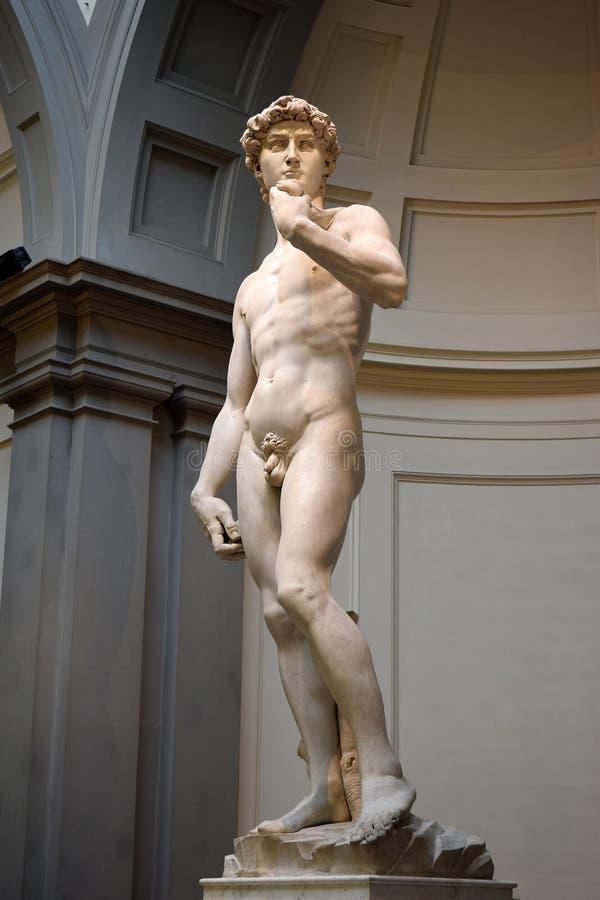 David Michelangelo w Galleria dell Accademia Florencja, Włochy obraz stock