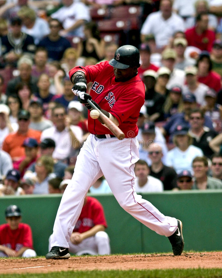 David Ortiz Boston Red Sox fotografia stock libera da diritti
