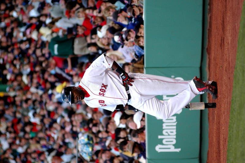 David Ortiz Boston Red Sox fotografie stock libere da diritti