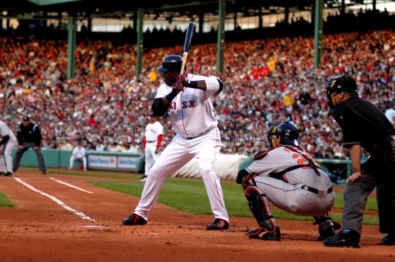 David Ortiz Boston Red Sox fotografia stock