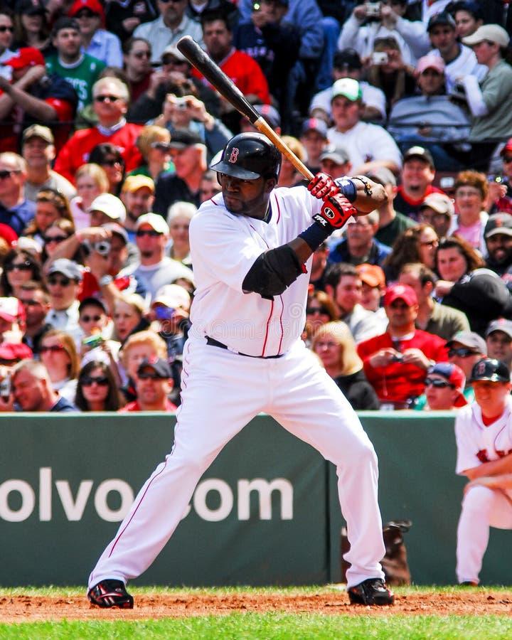 David Ortiz Boston Red Sox immagini stock libere da diritti