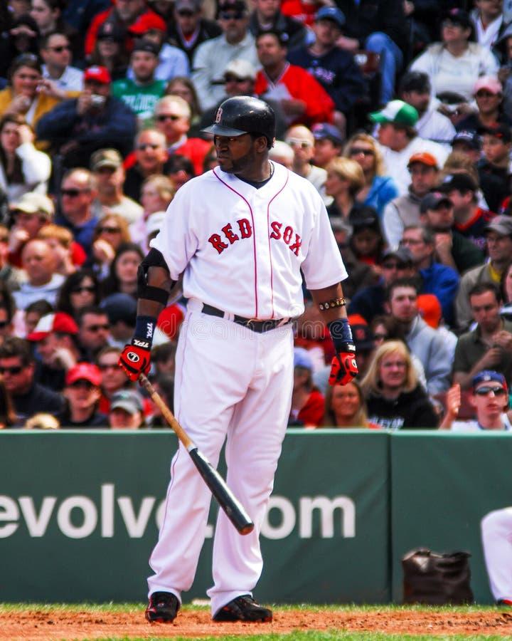 David Ortiz Boston Red Sox royaltyfria bilder