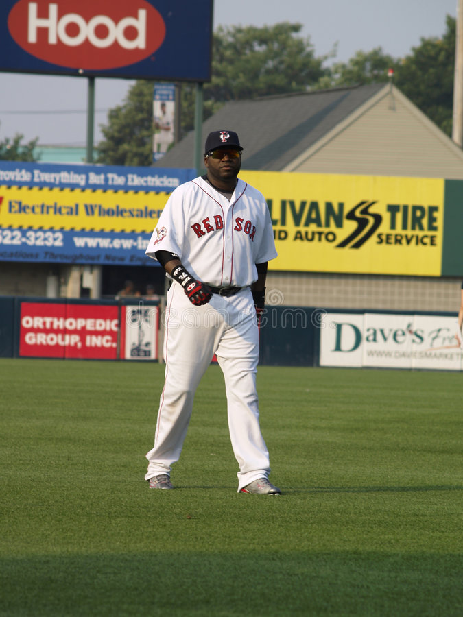 David Ortiz Pawtucket RI 1 royalty free stock images