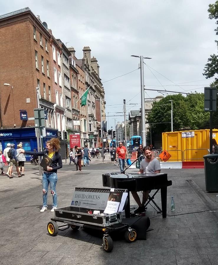 David Owens w Dublin zdjęcia royalty free