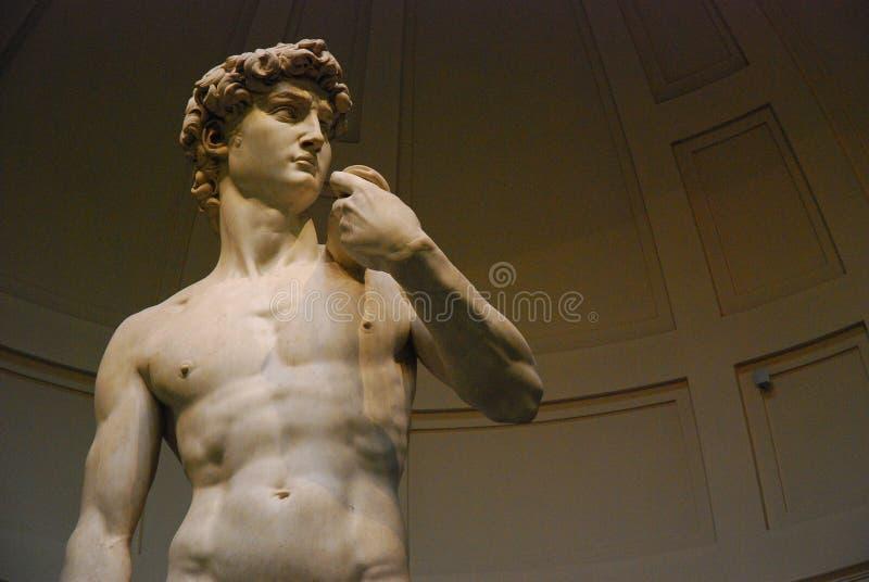 David por Michelangelo fotos de stock