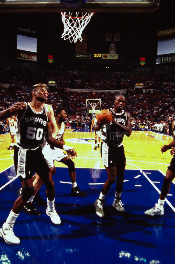 David Robinson, San Antonio Spurs images libres de droits