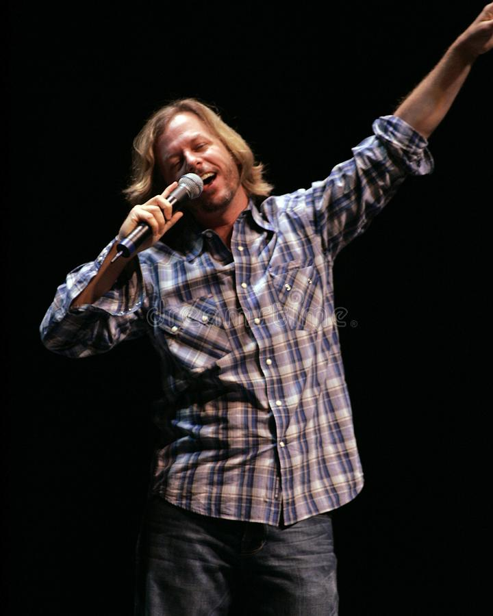 David Spade Performs Stand Up immagine stock