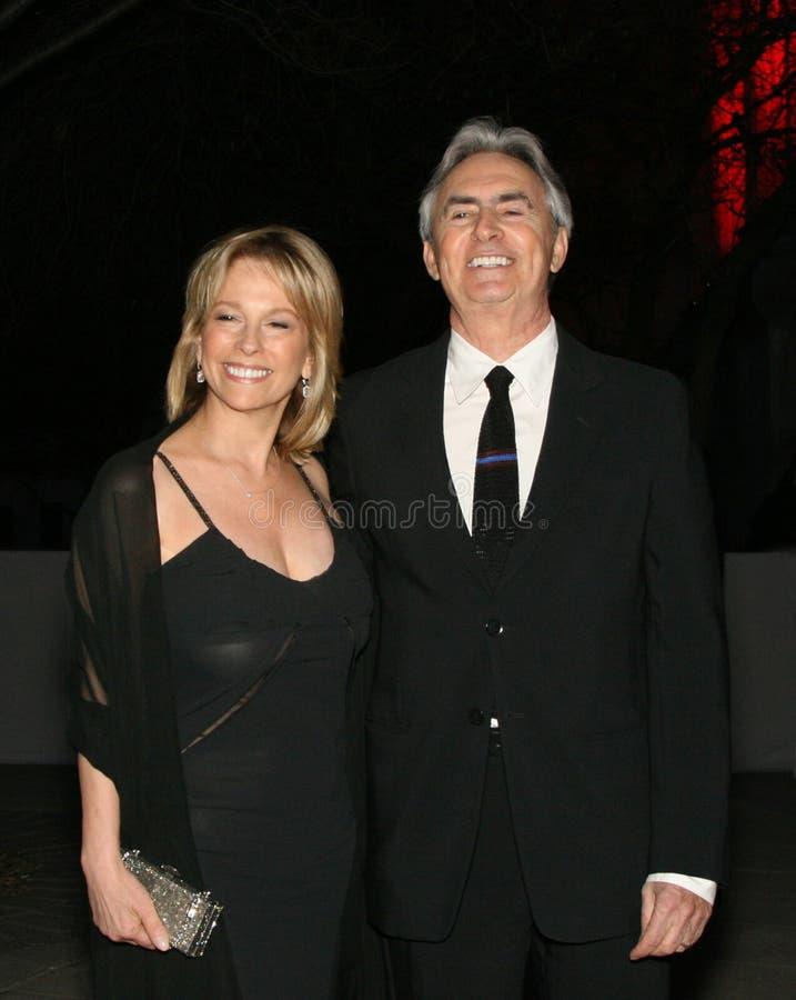 David Steinberg com esposa Robyn imagens de stock