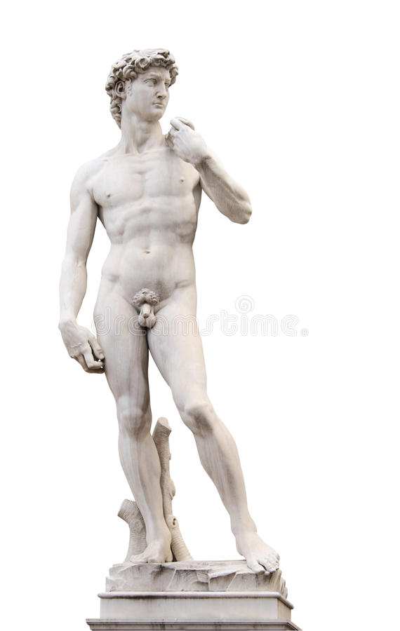 David van Michelangelo royalty-vrije stock fotografie