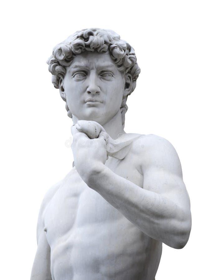David van Michelangelo, Florence Italië stock afbeeldingen