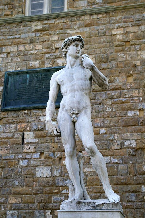 David von Michelangelo lizenzfreie stockfotos