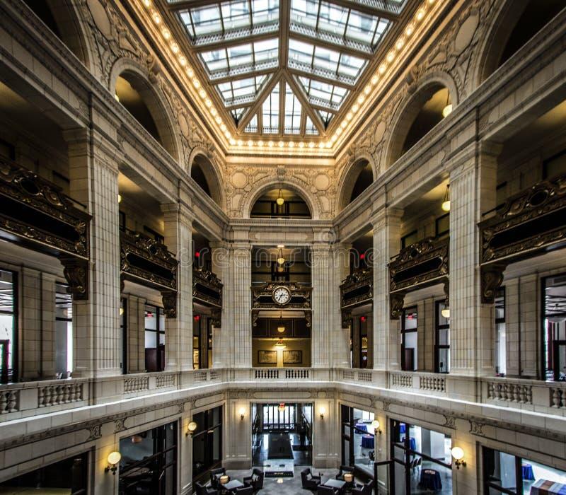 David Whitney Building In Downtown Detroit Michigan fotos de stock royalty free