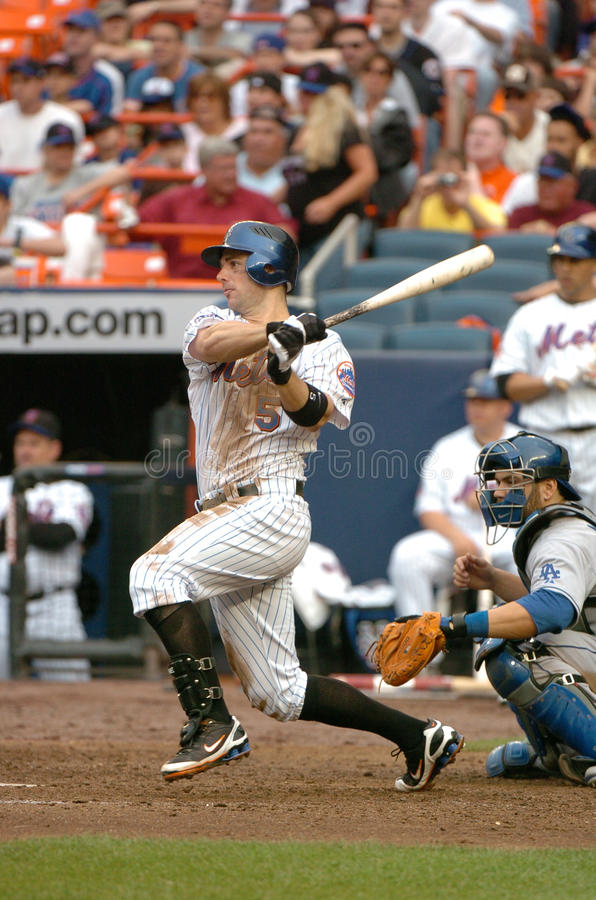 David Wright des New York Mets photos libres de droits