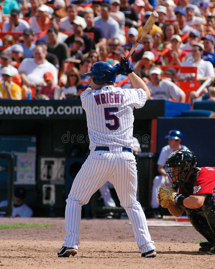 David Wright, New York Mets images stock