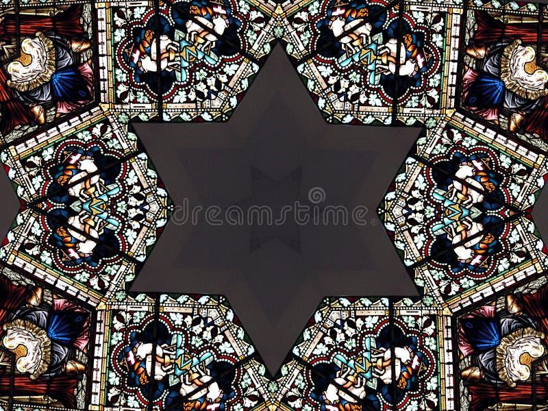 david wzorca gwiazda royalty ilustracja