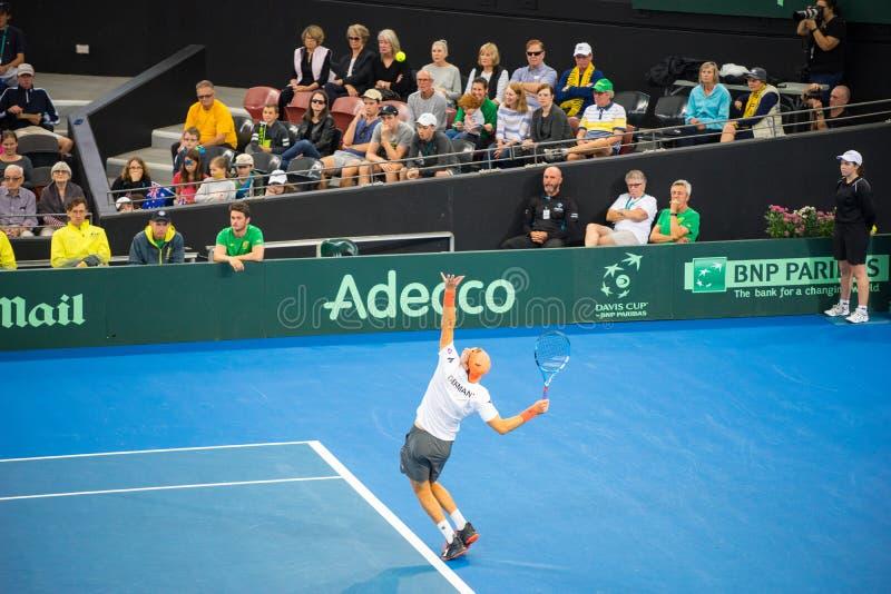Davis Cup Australia 2017 imágenes de archivo libres de regalías