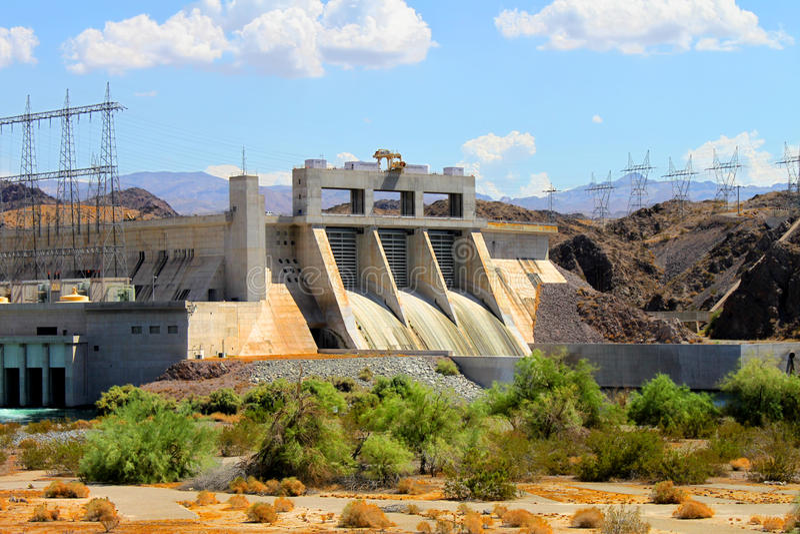 Download Davis Dam Laughlin Nevada foto de stock. Imagem de paisagem - 65579704