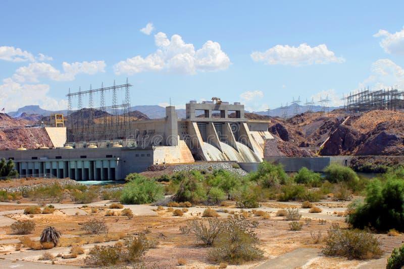 Davis Dam Laughlin Nevada imagem de stock royalty free