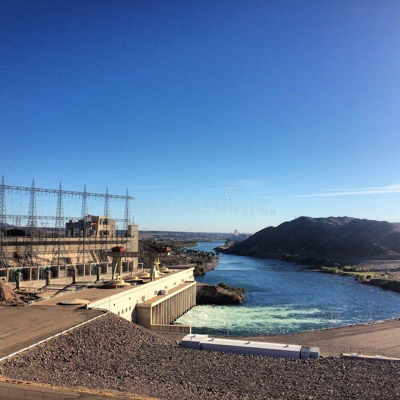 Davis Dam Viewing Laughlin Nevada images stock