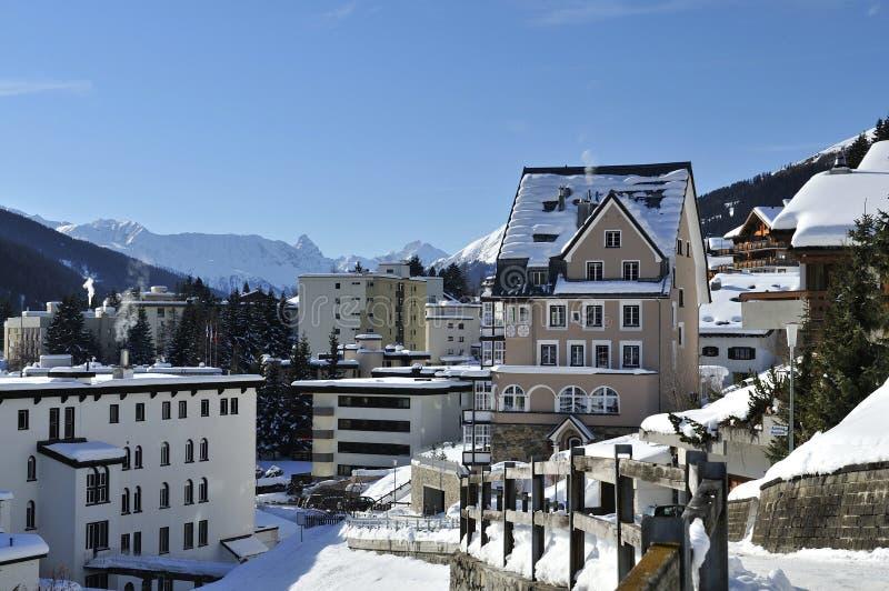 Davos zdjęcie royalty free