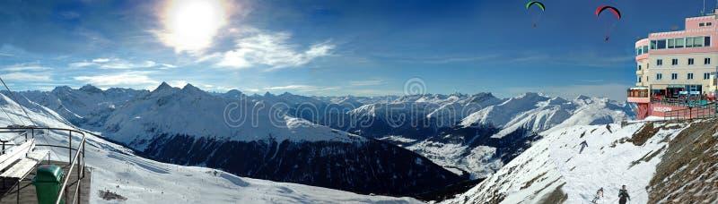 davos jackobshorn στοκ εικόνες με δικαίωμα ελεύθερης χρήσης