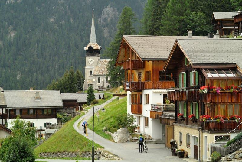 Davos - Monstein stock photos