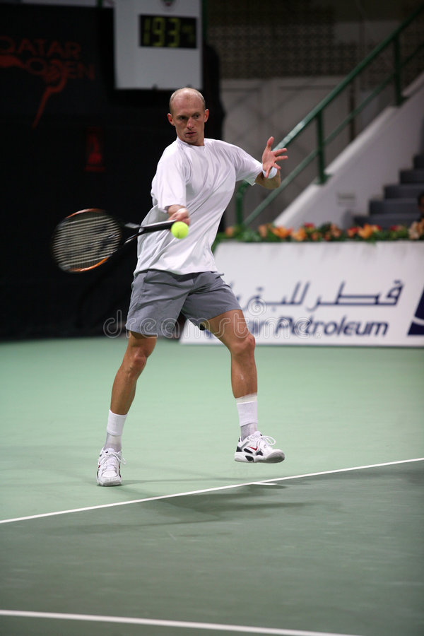 Davydenko returning in Qatar stock images