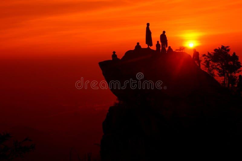 Dawn της ευτυχίας στοκ φωτογραφία με δικαίωμα ελεύθερης χρήσης