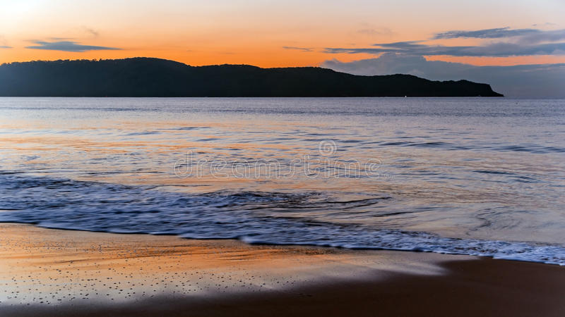Download Dawn at the Beach stock image. Image of australia, travel - 92624679