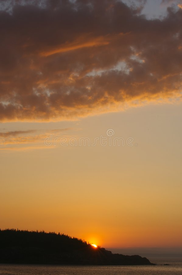 Dawn Breaking stock photography